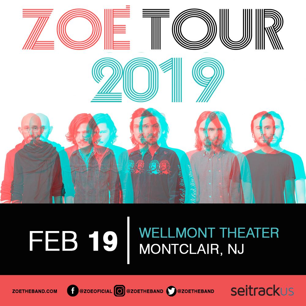 Zoe en concierto New Jersey