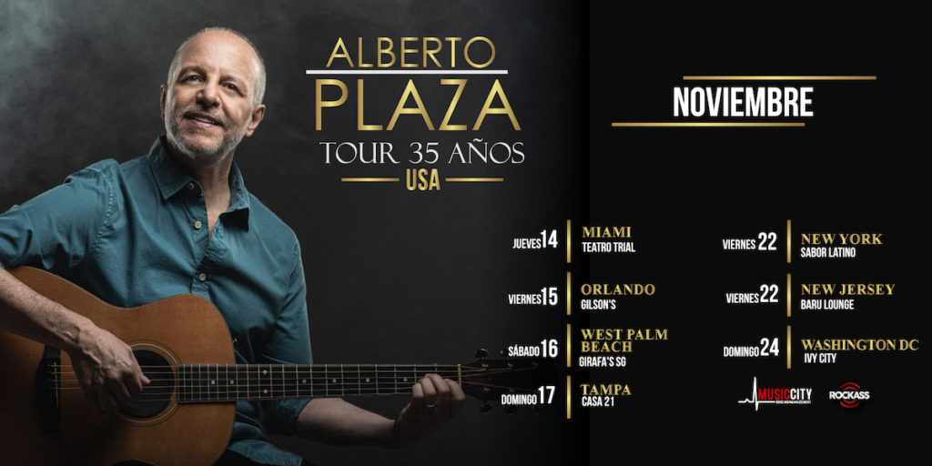 ¡TOUR 35 AÑOS de Alberto Plaza ! TICKETS
