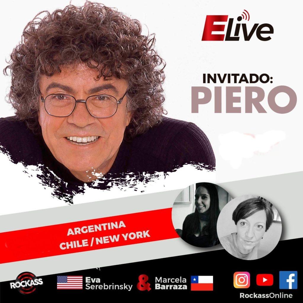 "Piero en ELive ""Nostalgia con sabor a presente"""