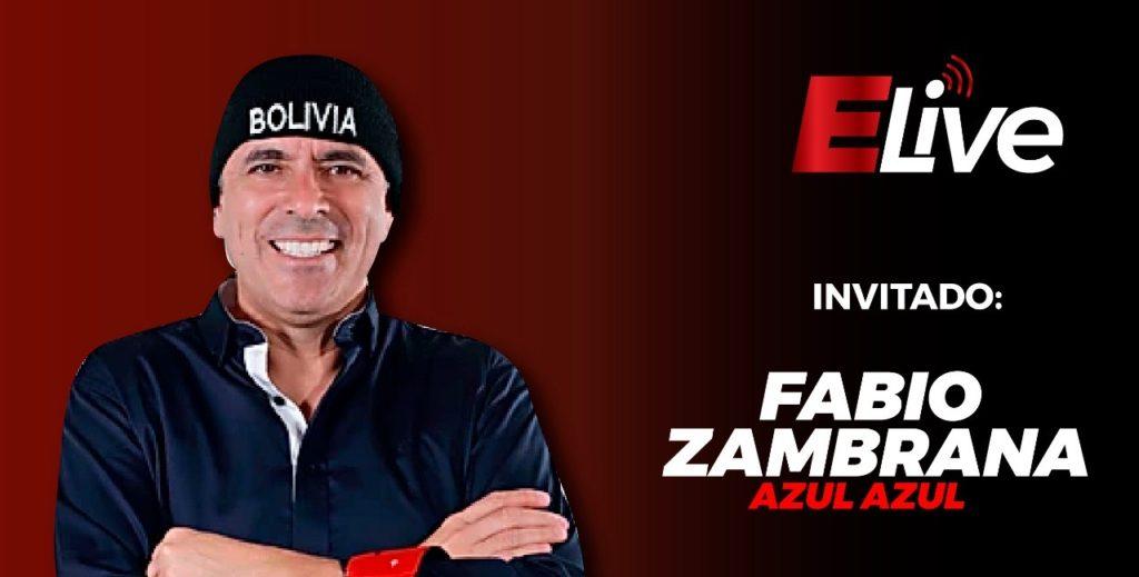 Entrevista Fabio Zambrana Azul Azul  en #Elive