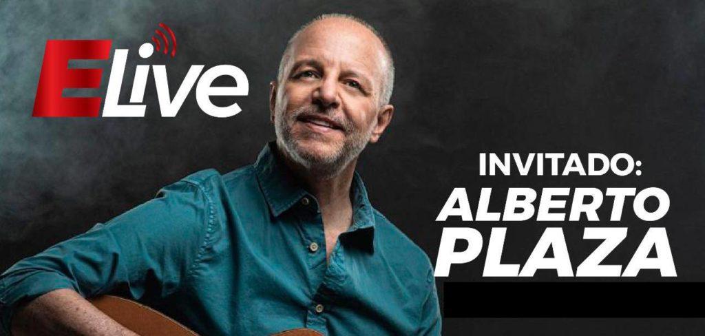 """Alberto Plaza en Elive «De perfecto bandido a un aventurero que va """"palante"""""""
