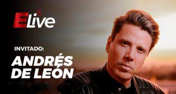 Andrés de León en Elive  «25 años de baladas y rock»