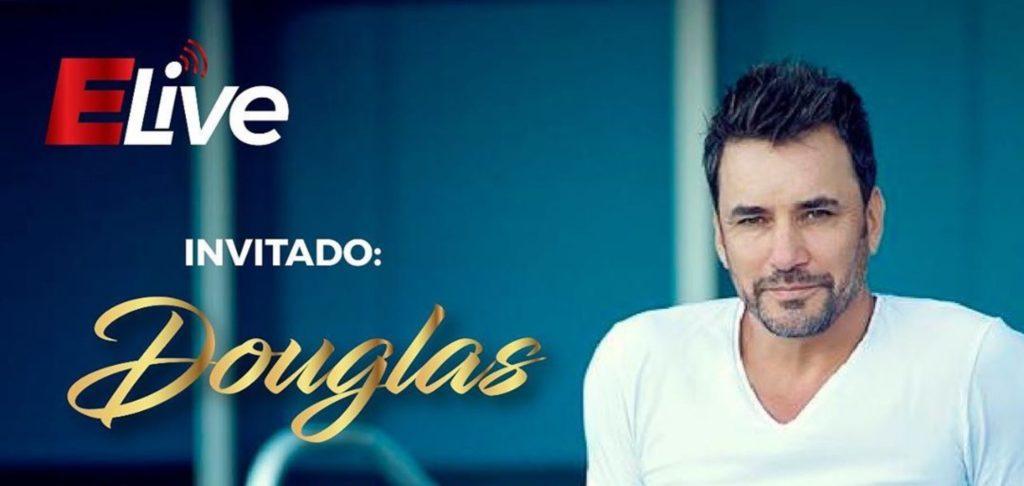 Douglas en entrevista desde Miami con #Elive