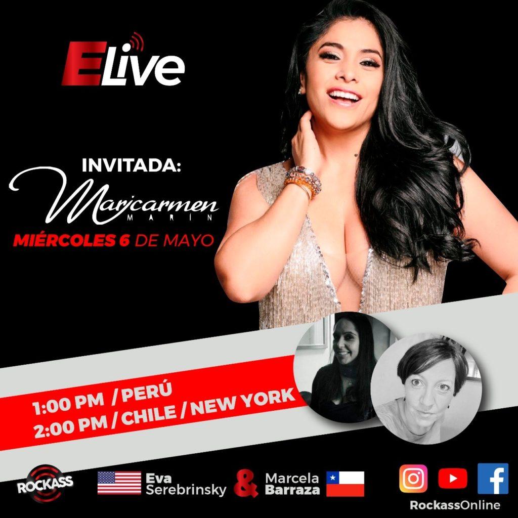 Entrevista en vivo con Maricarmen Marin