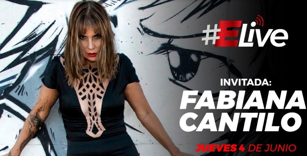 Fabiana Cantilo en #Elive nos deja «La Huella»