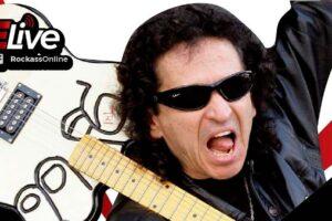"""Alex Lora en Elive  """"Este mundo no puede vivir sin rock and roll"""""""