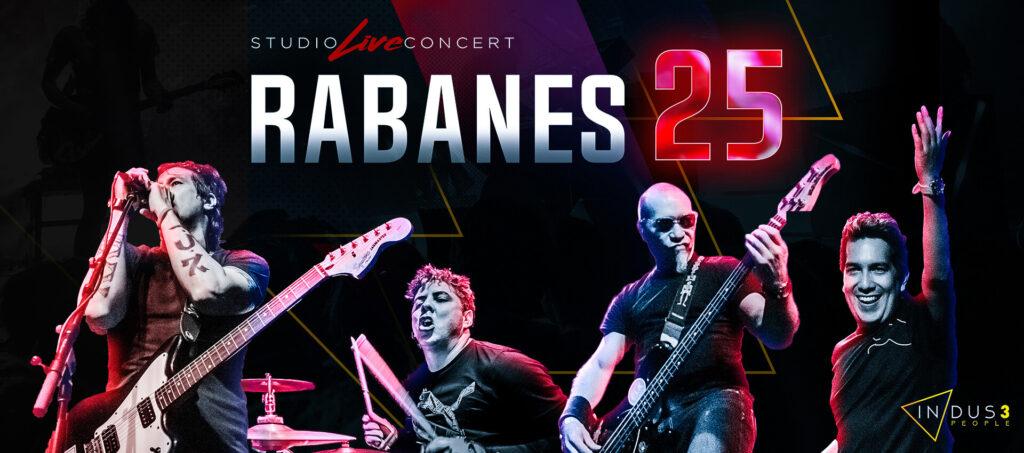 LOS RABANES CELEBRAN SU 25 ANIVERSARIO CON UN CONCIERTO VIRTUAL A TRAVÉS DELAMUSICA.COM