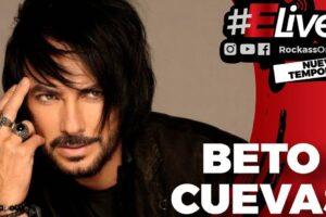 """Beto Cuevas en Elive """"Siempre estoy preparando algo nuevo, trabajo para el futuro"""""""