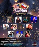 Estamos Unidos, fiesta de fin de año 2020 de la Comunidad Chilena en Estados Unidos.