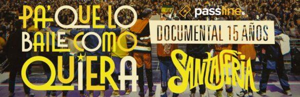 Desde Chile ! Santaferia prepara documental: Pa' que lo baile como quiera
